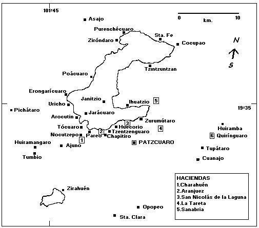 Pueblos y haciendas de Pátzcuaro
