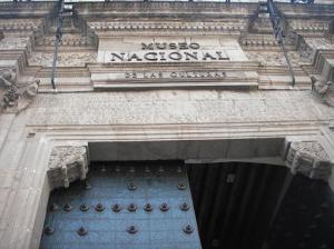 Portada de la Casa de Moneda (hoy Museo Nacional de las Culturas)