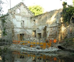 Antes de la restauración. Foto: Asociación de Amigos de la Casa de Moneda de Segovia