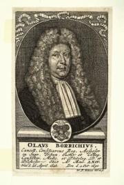 Ole Borch, según un grabado de Wolfgang Kilian, Biblioteca Palatina, Universidad de Heidelberg