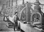 Las prensas de Boulton en perspectiva: Fuente: SohoMint