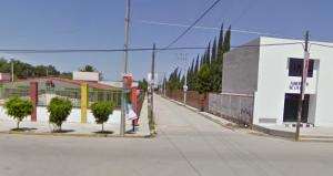 La esquina de Victoriano Huerta y Av. Libertad, S.L.P