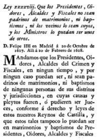ley xxxxvii, tit III lib II